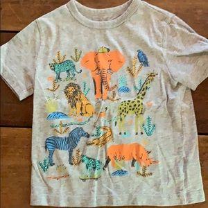 Baby Gap Jungle Animals Tee sz4